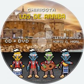 Cd de Chirigota Los De Arriba del Carnaval de Cadiz