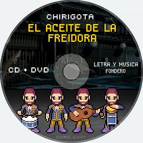 Cd de Chirigota El Aceite De La Freidora del Carnaval de Cadiz