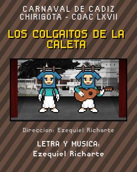 Libreto de Chirigota Los Colgaitos De La Caleta del Carnaval de Cadiz