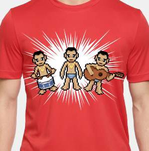 Camiseta de Chirigota Agua Cara del Carnaval de Cadiz