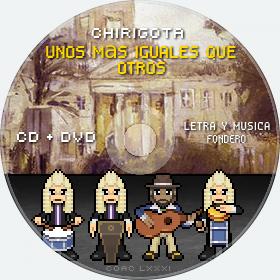 Cd de Chirigota Unos Más Iguales Que Otros del Carnaval de Cadiz