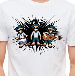 Camiseta de Chirigota Los Que Se Van A Vivir A Andorra del Carnaval de Cadiz