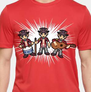 Camiseta de Chirigota Una Chirigota Calentita del Carnaval de Cadiz