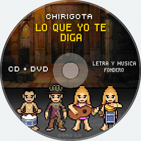 Cd de Chirigota Lo Que Yo Te Diga del Carnaval de Cadiz