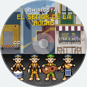 Cd de Chirigota El Señor De La Noche del Carnaval de Cadiz