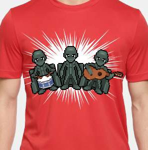Camiseta de Chirigota Me Dejas De Piedra del Carnaval de Cadiz