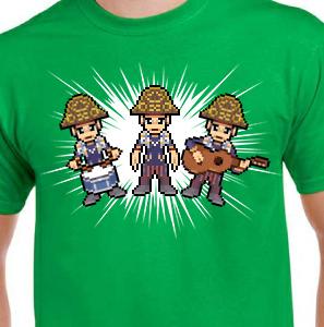 Camiseta de Chirigota Los Jogailla del Carnaval de Cadiz
