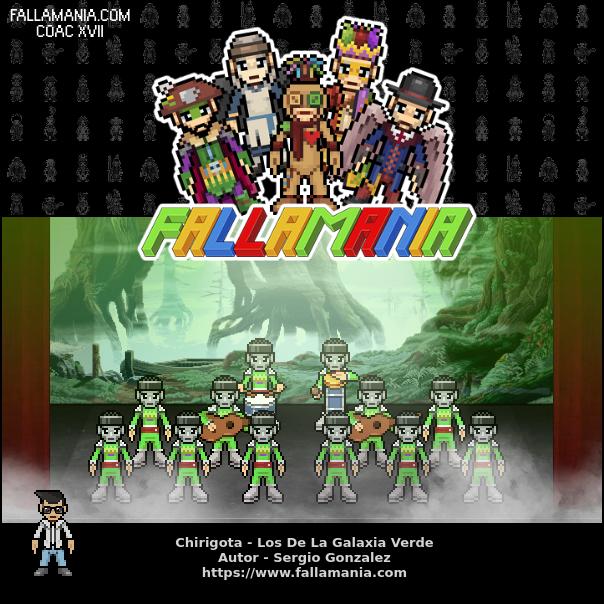 Chirigota Los De La Galaxia Verde